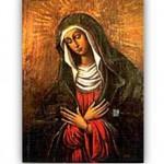 Православная и католическая икона. Окончание