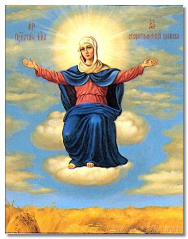 фото икона спорительница хлебов