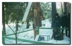На могиле Симеона Сербишенского