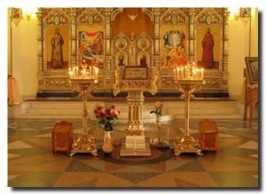 Внутри собора в Невьянске