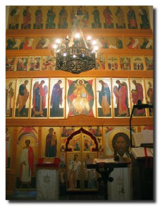 Иконостас пятиярусный, г. Долгопрудный