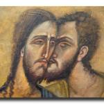 Христос и Иуда. Притча Леонардо да Винчи