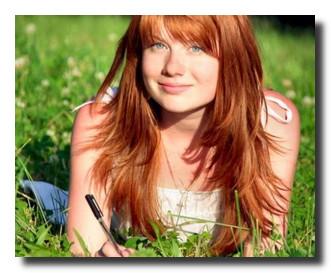 фотографии с рыженькой толстенькой девчонкой