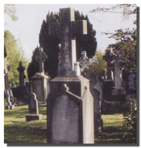 Могила В.Печерина на Гласневинском кладбище Дублина