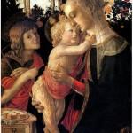 БОТТИЧЕЛЛИ Мадонна с младенцем и со св. Иоанном Крестителем. 1445-1510