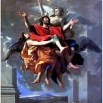 Н.Пуссен. Экстаз св. Павла Лез-Андели, 1594 — Рим, 1665