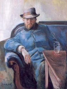 портрет Ханса Ягера