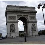 Триумфиальная арка на площади Звезда