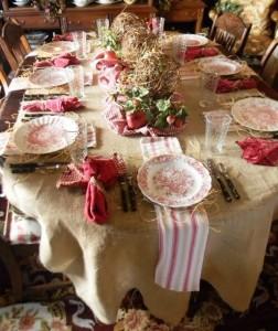 щедрый новогодний стол