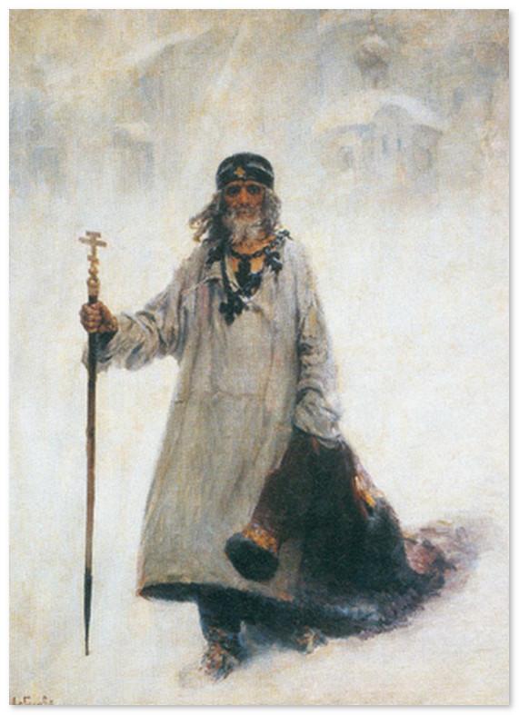 Юродивый Христа ради Василий Блаженный