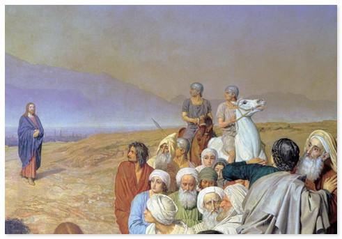 Вышивка крестом явление христа народу