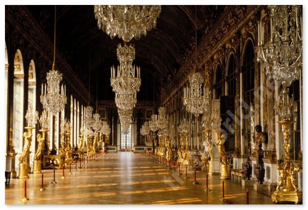 Версаль. Зеркальная галерея. Парижский дневник.