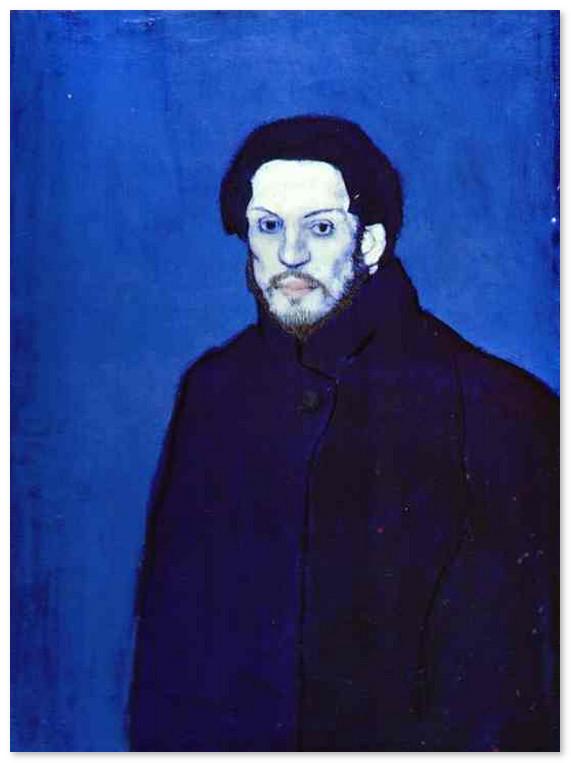 Автопортрет. 1901 г -muzej-pikasso