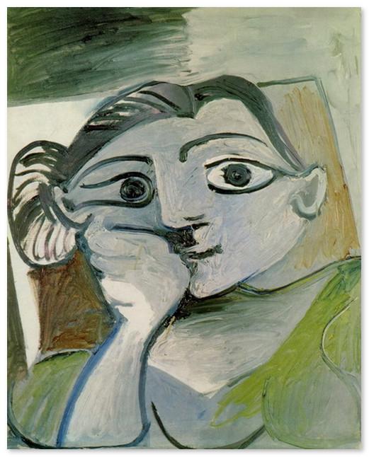 Бюст женщины (Жаклин) 1962
