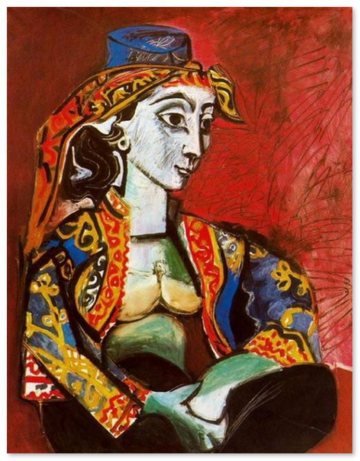 Жаклин в турецком костюме 1955