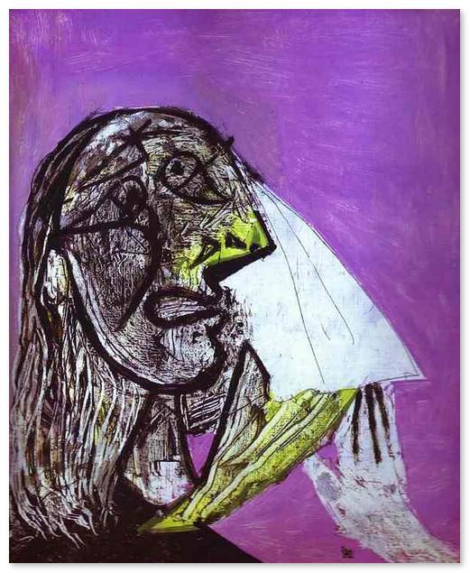 Женщина в слезах 1937
