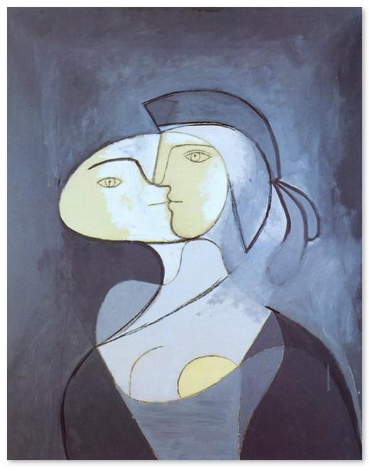 Мари Тереза - анфас и профиль. 1931 г..jpg
