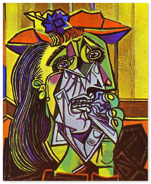 Плачущая женщина_1937