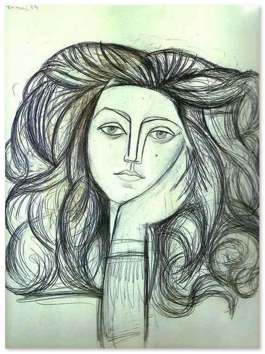 Портрет Франсуазы. 1946