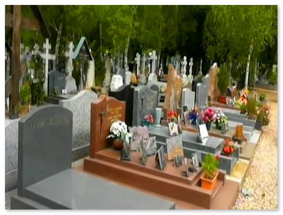 Русская часть кладбища