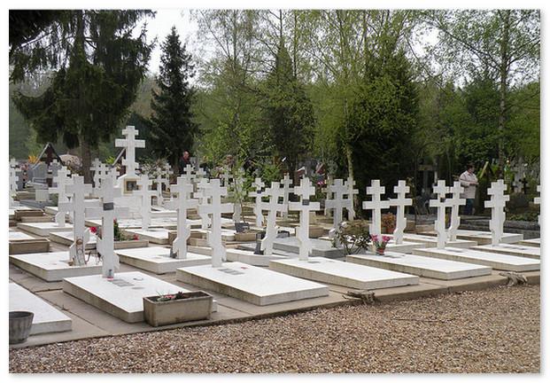 Русским кадетам. Русское кладбище в Париже