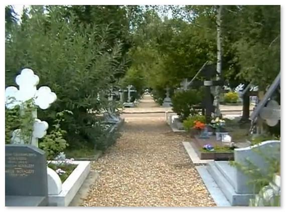 Русское кладбище в Париже сегодня