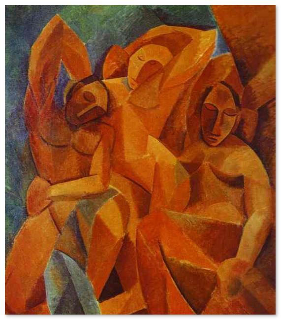 muzej-pikasso-Три женщины. 1908