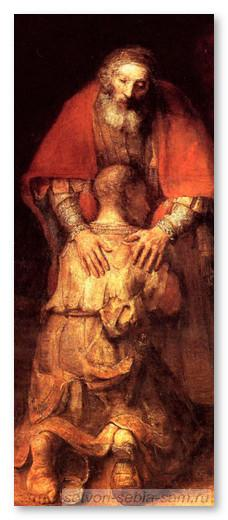 Возвращение блудного сына. Рембрандт