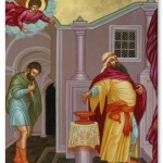 Постная Триодь. Притча о мытаре и фарисее