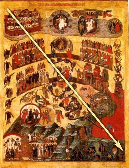 Икона Страшный Суд, 16 век