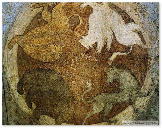 Символы 4-х царств
