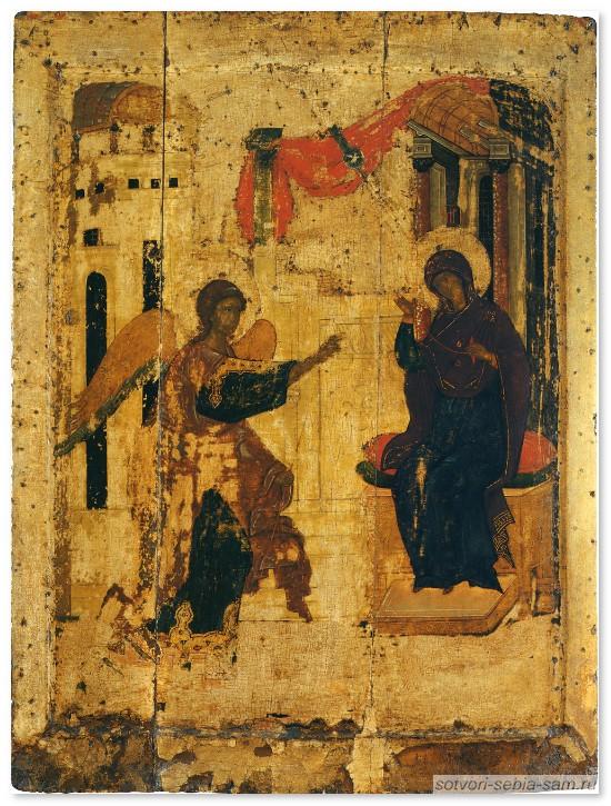 икона Благовещения