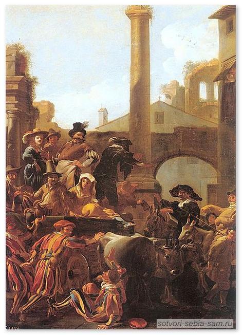 Жизнь наизнанку. Карнавал в Риме 1653 г