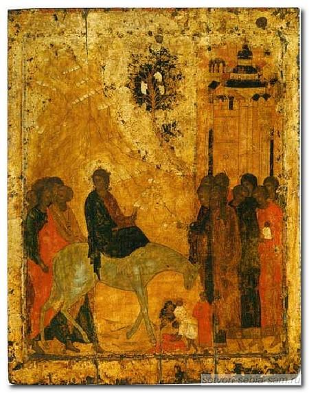 Иконография Входа в Иерусалим