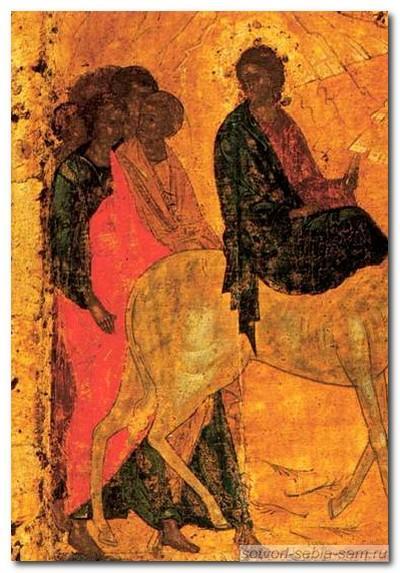 Иконография праздника Входа в Иерусалим