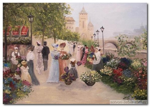 Весна в Париже. Париж-11