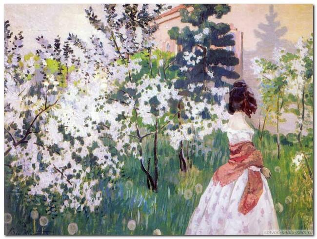 Любимые поэты о весне.
