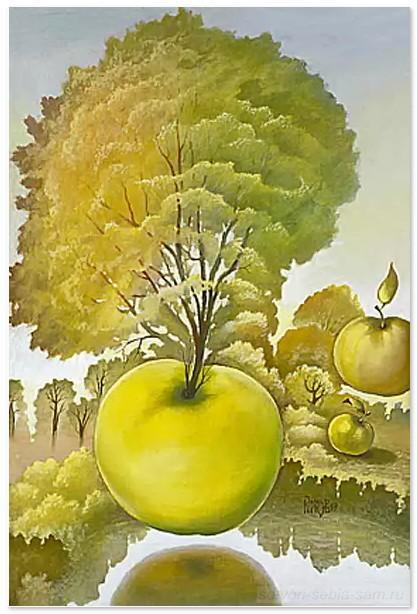 Яблоко от яблони... Мысли вслух