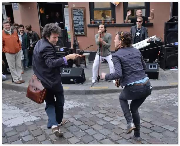 Народный праздник музыки. Париж-14