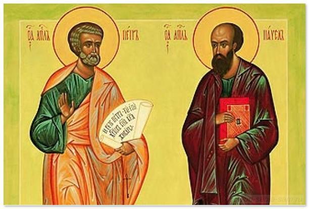 Петр и Павел - апостолы Первоверховные
