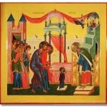 Иконография праздника «Введение Пресвятой Богородицы во храм»