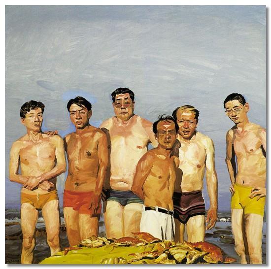 Китайская современная живопись. Лю Саодун
