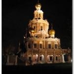 Храм Покрова в Филях. Нарышкинский стиль.