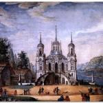 Русские храмы. Владимирская церковь в Быково