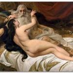 Ависага Сунамитянка и царь Давид