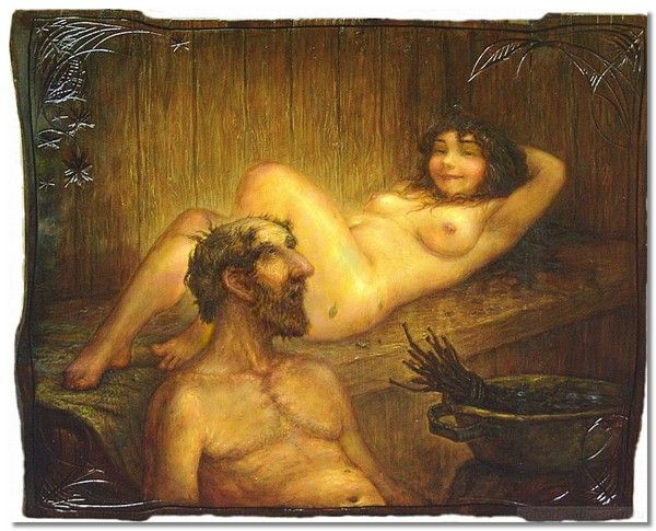 Рассказ у деда в бане фото 470-474