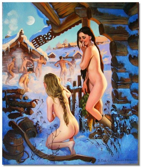 Внутрь видео с голыми в городских общих бань оргазм