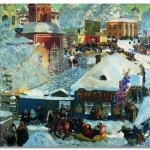 Борис Кустодиев: любовь к своему
